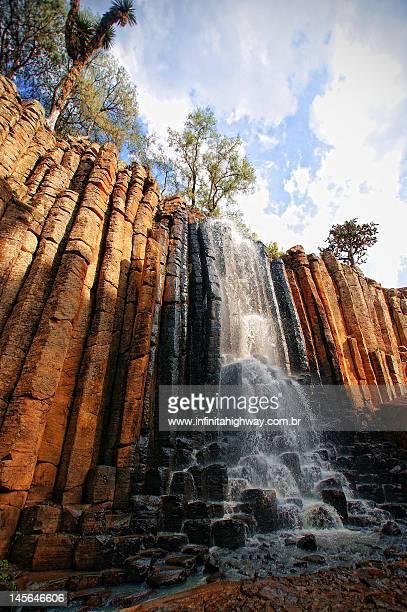Prismas Basálticos Huasca de Ocampo Hidalgo Mexico