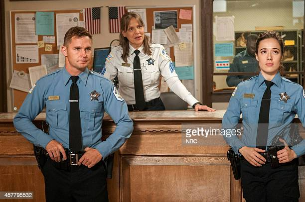 D Prison Ball Episode 206 Pictured Brian Geraghty as Sean Roman Amy Morton as Trudy Platt Marina Squerciati as Kim Burgess