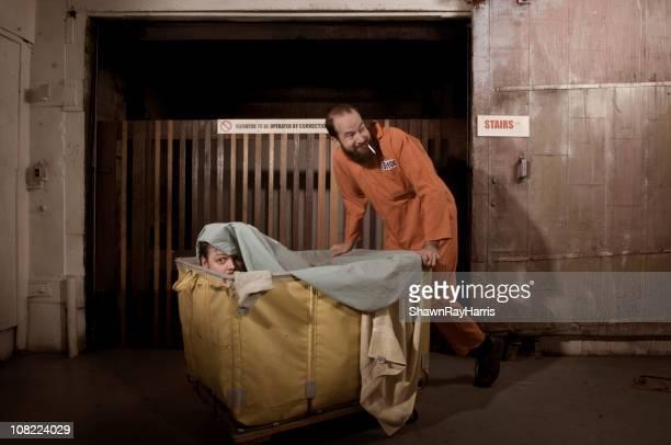 prison break - prisoner stock pictures, royalty-free photos & images