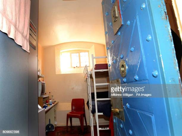 A prison cell in Hall B at Barlinnie Prison in Galsgow after Justice Secretary Kenny Macaskill visited to meet staff and see firsthand the challenges...