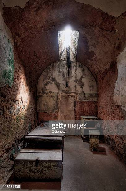 prison cell - ogphoto stock pictures, royalty-free photos & images