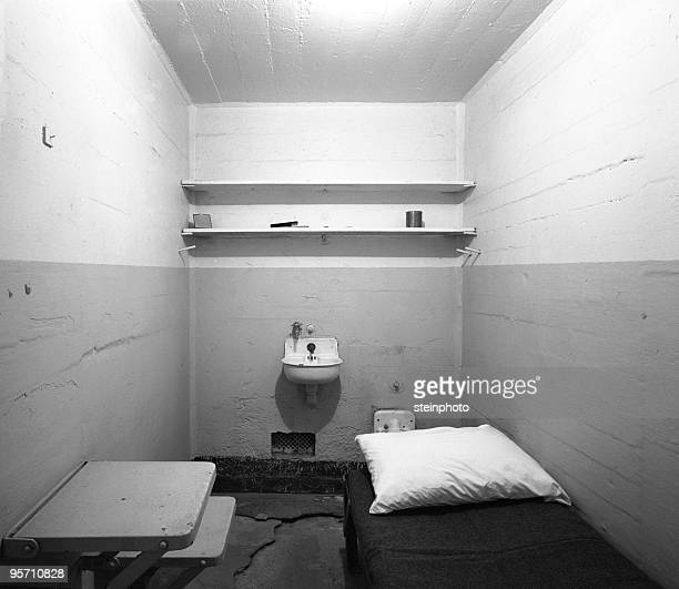 prison cell - prison cell stock pictures, royalty-free photos & images