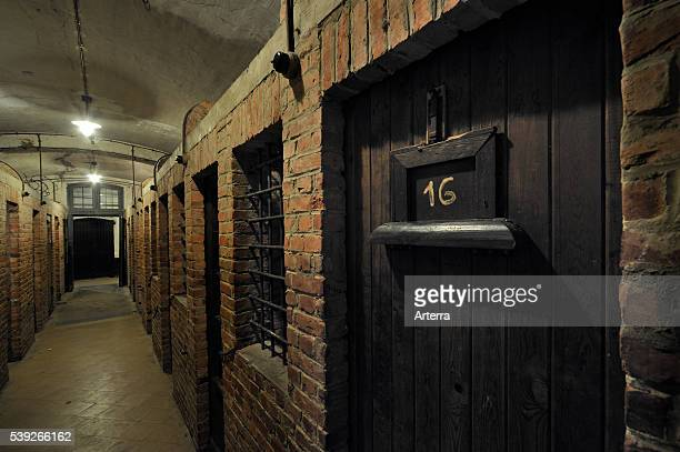 Prison cells at the Fort Breendonk Belgium