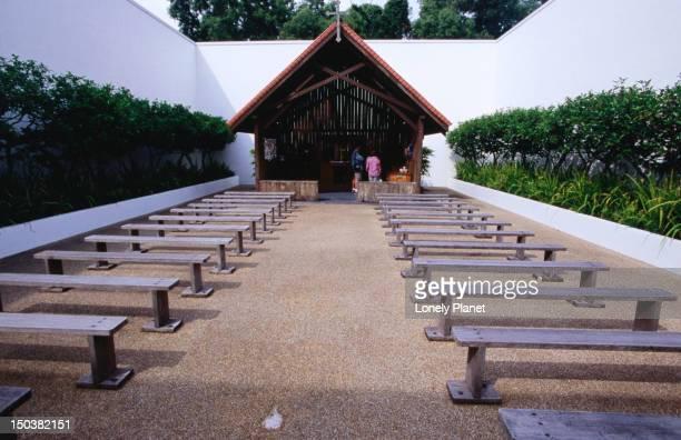 WWII Prison chapel, Changi Village.