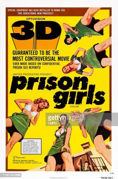 Prison Girls poster Candy Samples Uschi Digard 1972