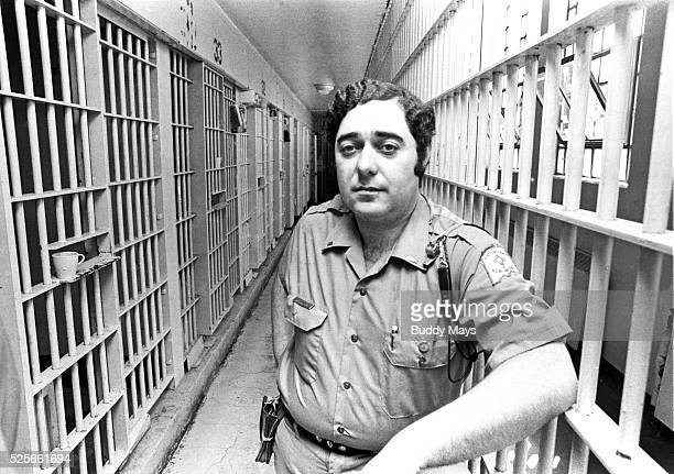 A prison guard in the maximum security section of New Mexico State Prison in Santa Fe NM about a month before a prison riot occured that killed 32...