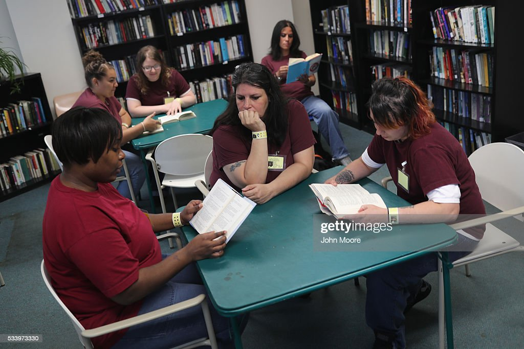 Women's Reintegration Center Prepares Inmates For Life After Prison : News Photo