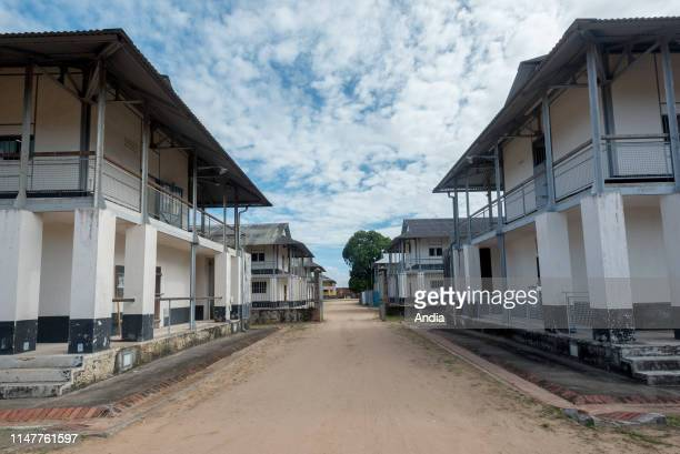 Prison of St-Laurent-du-Maroni, in French Guiana. Former blocks of the prison, used as dormitories.