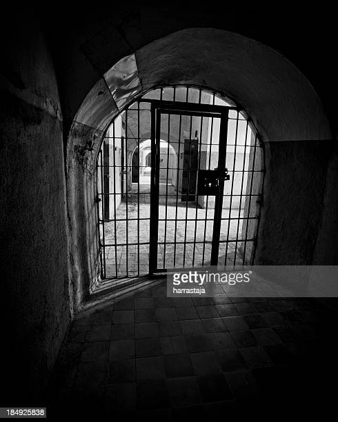 prison - dungeon stock photos and pictures