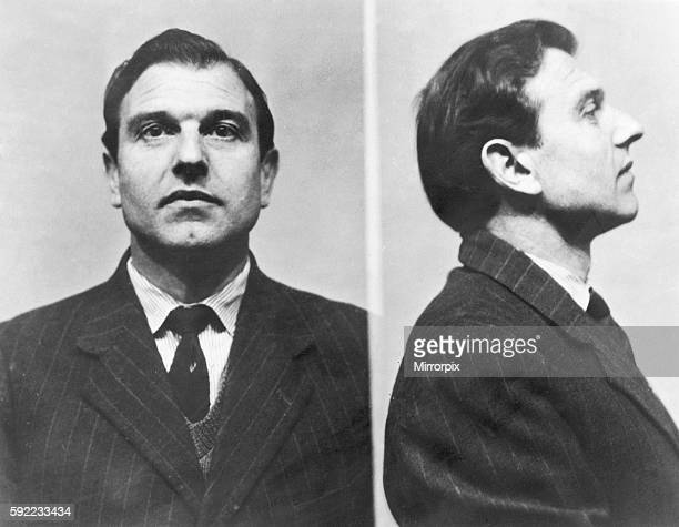 Prison pictures of George Blake a Soviet double agent who whilsts working for MI6 is belived to have betrayed details of some 400 MI6 agents to the...