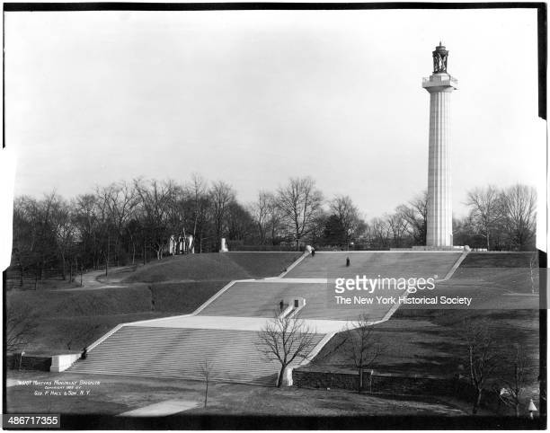 Prison Ship Martyr's Monument, Fort Greene Park, Brooklyn, New York, New York, 1909.