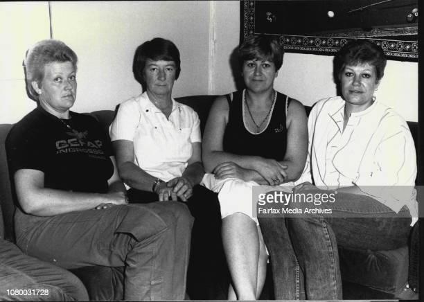 Prison story on what goes on inside our jailsPrison warders Joy Shacklock Sylvia Patterson Denis Crisp and Nikki James October 24 1984