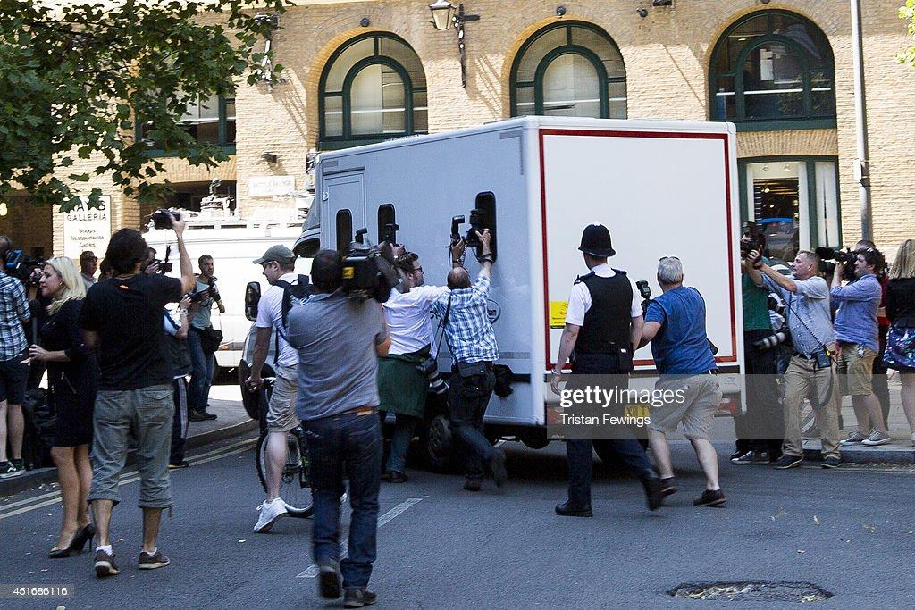 Entertainer Rolf Harris Sentenced After Indecent Assault Trial : News Photo