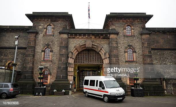 A prison van leaves Wandsworth prison where Wikileaks founder Julian Assange is being held in south London on December 15 2010 WikiLeaks founder...