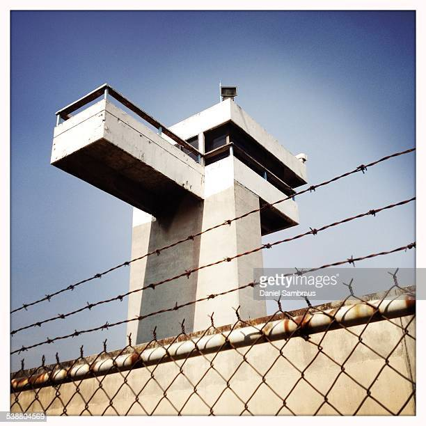 Prison watch Tower in Mexico City Mexico