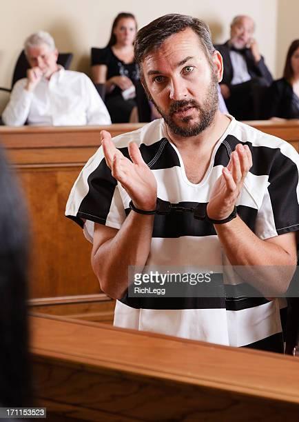 Prisoner in Court