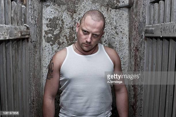 prisoner portrait - prisoner stock pictures, royalty-free photos & images