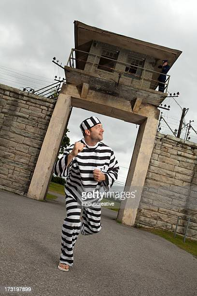prisoner trying to escape - escapism stock pictures, royalty-free photos & images