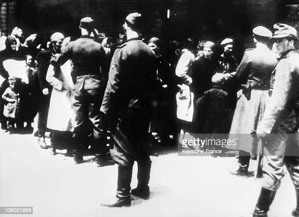 Prisoners Arriving To Auschwitz 19401944 Men And Women Seem To Have Already Been Separated From Their Children