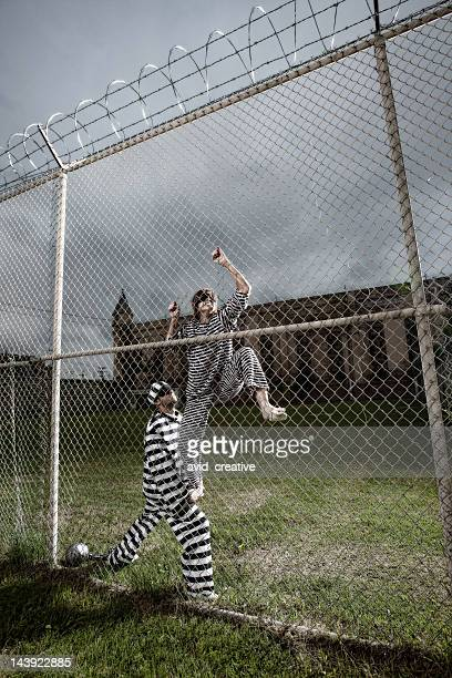 prisoners attempt escape - escaping stock pictures, royalty-free photos & images