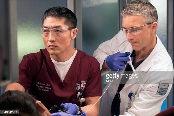 MED Prisoner's Dilemma Episode 215 Pictured Brian Tee as Dr Ethan Choi Jeff Hephner as Jeff Clarke