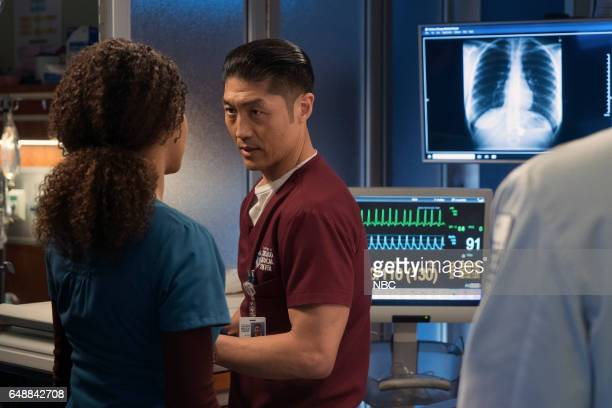 MED Prisoner's Dilemma Episode 215 Pictured Brian Tee as Dr Ethan Choi
