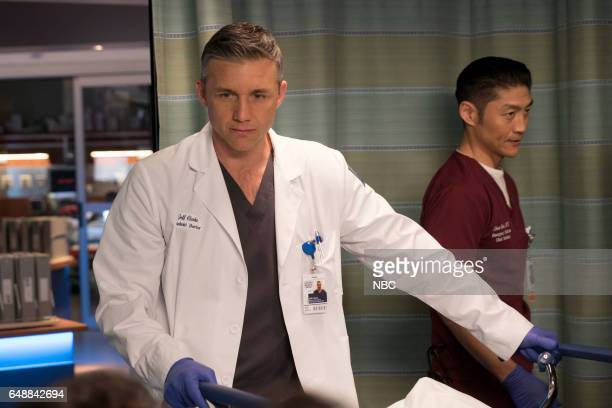 MED Prisoner's Dilemma Episode 215 Pictured Jeff Hephner as Jeff Clarke Brian Tee as Dr Ethan Choi
