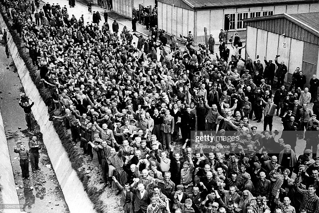 The Liberation Of The Dachau Concentration Camp : News Photo