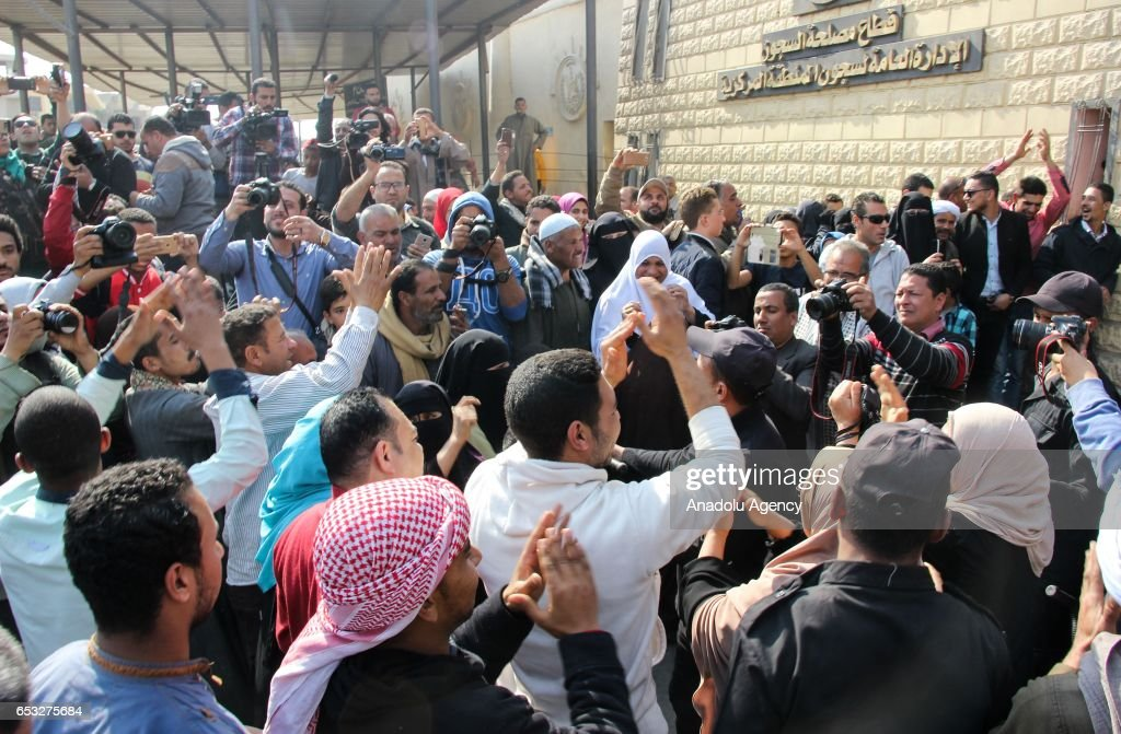 Egypt releases 203 prisoners after presidential pardon : News Photo
