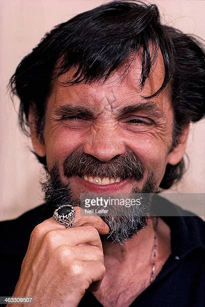The Inmate Nation Closeup portrait of Charles Manson in his cell at California Medical Facility Vacaville CA CREDIT Neil Leifer