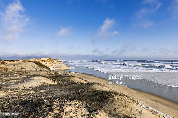 Pristine beach along Cape Hatteras National Seashore