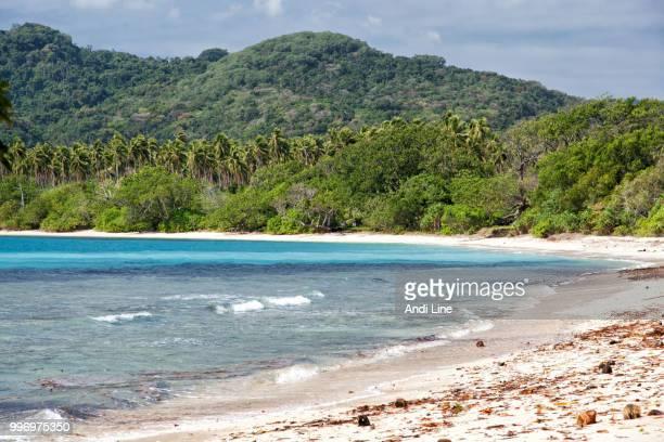 Pristine beach in Vanuatu