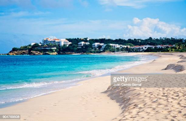 Pristine beach of Anguilla.