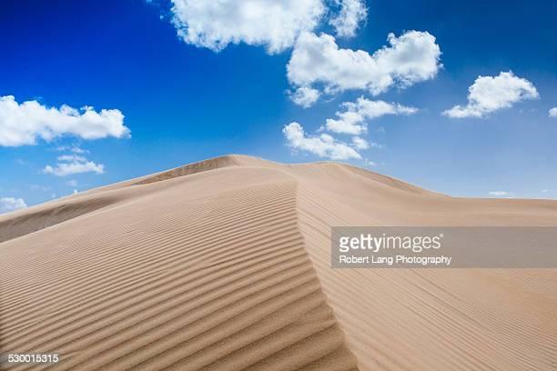 Pristine untouched sand dune landscape, Australia