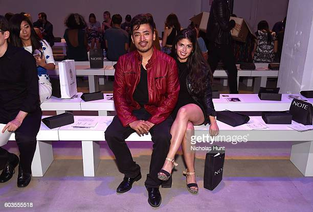 Pritan Ambroase and Marianna Phillips attend the Fashion Istanbul fashion show during New York Fashion Week The Shows September 2016 at The Gallery...