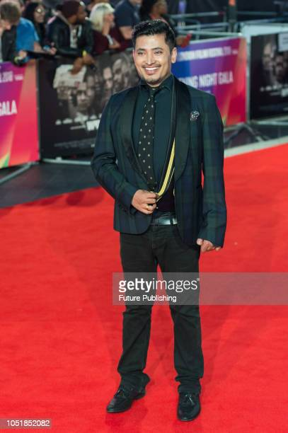 Pritan Ambroase attends the European film premiere of 'Widows' at Cineworld Leicester Square during the 62nd BFI London Film Festival Opening Night...