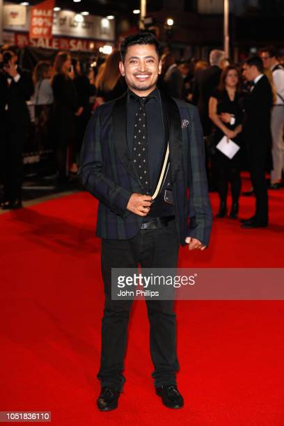 Pritan Ambroase attends the European Premiere of Widows and opening night gala of the 62nd BFI London Film Festival on October 10 2018 in London...