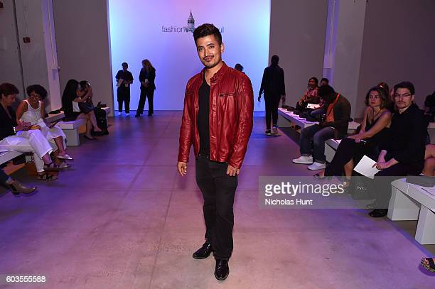 Pritan Ambroase attends the Fashion Istanbul fashion show during New York Fashion Week The Shows September 2016 at The Gallery Skylight at Clarkson...