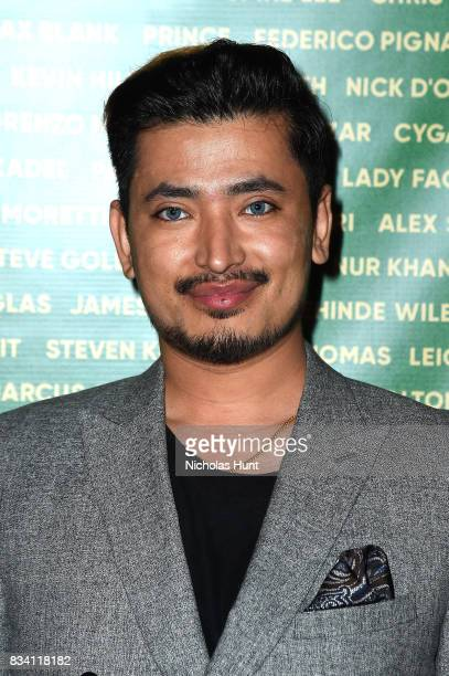 Pritan Ambroase attends the George Wayne's Annual Downtown 100 Party at Hotel Chantelle on August 17 2017 in New York City