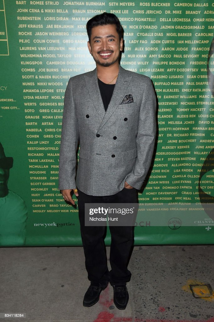 Pritan Ambroase attends the George Wayne's Annual Downtown 100 Party at Hotel Chantelle on August 17, 2017 in New York City.