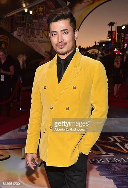 "Pritan Ambroase attends The Los Angeles World Premiere of Marvel Studios' Doctor Strange"" in Hollywood CA on Oct 20th 2016"
