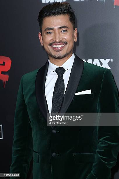 Pritan Ambroase attends the New York Premiere of Broad Green Pictures and Miramax's 'Bad Santa 2' at AMC Loews Lincoln Square on November 15 2016 in...
