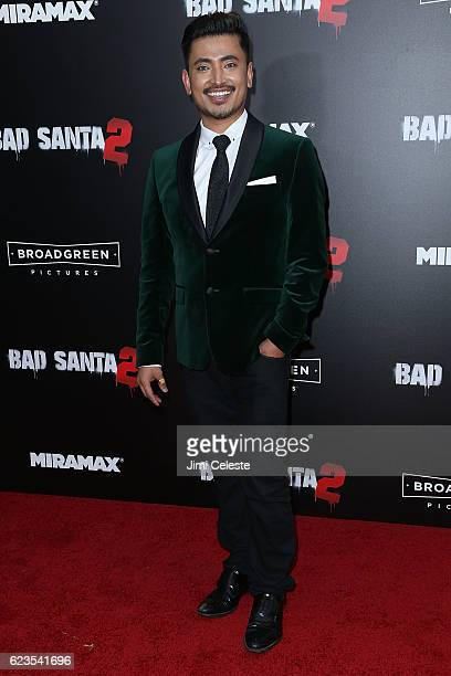 Pritan Ambroase attends the New York Premiere of Broad Green Pictures and Miramax's Bad Santa 2 at AMC Loews Lincoln Square on November 15 2016 in...