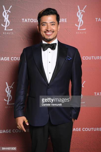 Pritan Ambroase attends the YSL Beauty Club Party during the 74th Venice Film Festival at Arsenale on September 8 2017 in Venice Italy