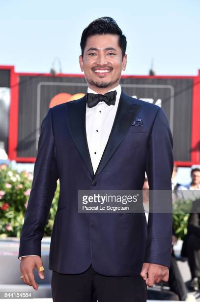 Pritan Ambroase walks the red carpet ahead of the 'Hannah' screening during the 74th Venice Film Festival at Sala Grande on September 8 2017 in...