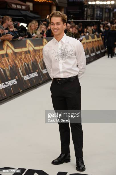 Pritchard attends the World Premiere of 'King Of Thieves' at Vue West End on September 12 2018 in London England