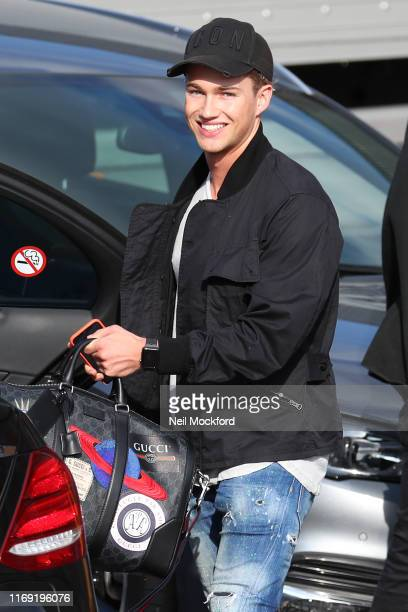 Pritchard seen leaving Strictly Come Dancing 2019 rehearsals on August 20 2019 in London England
