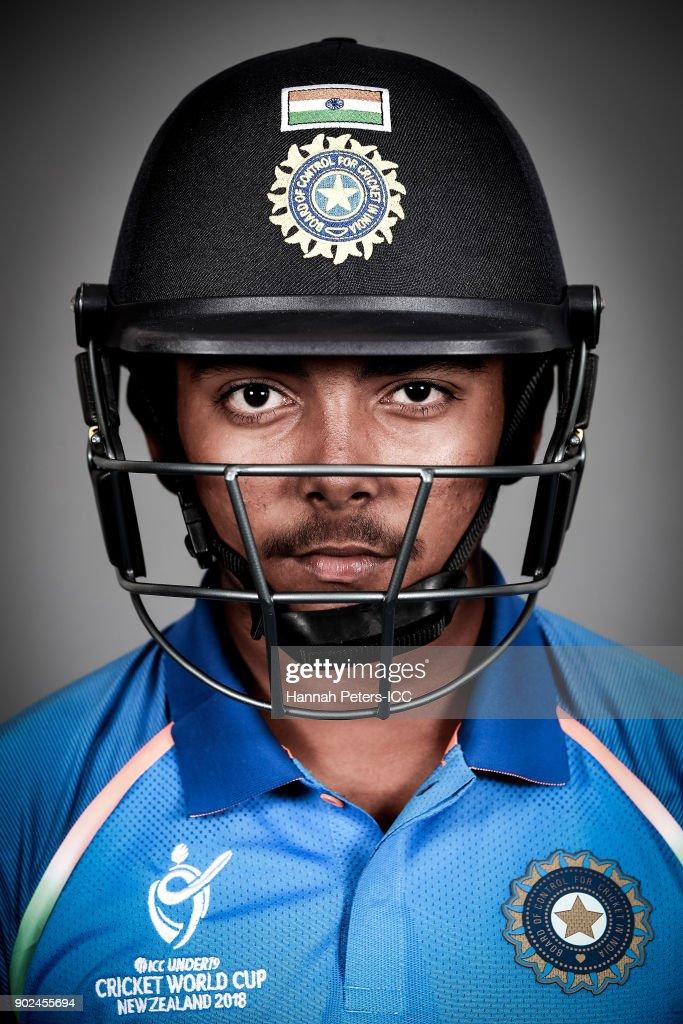 India ICC U19 Cricket World Cup Headshots Session