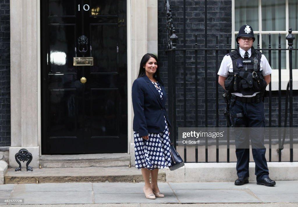 Prime Minister David Cameron Announces His New Cabinet : News Photo
