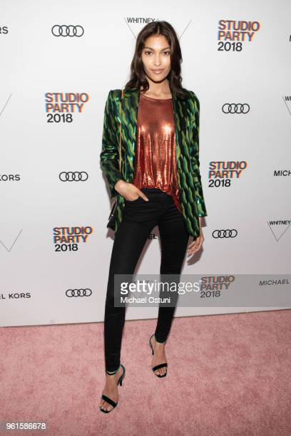 Pritika Swarup attends the Whitney Museum Celebrates The 2018 Annual Gala And Studio Party at The Whitney Museum of American Art on May 22 2018 in...